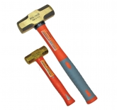 PROTECH NON SPARKABLE BRASS HAMMER WITH TPR GRIP
